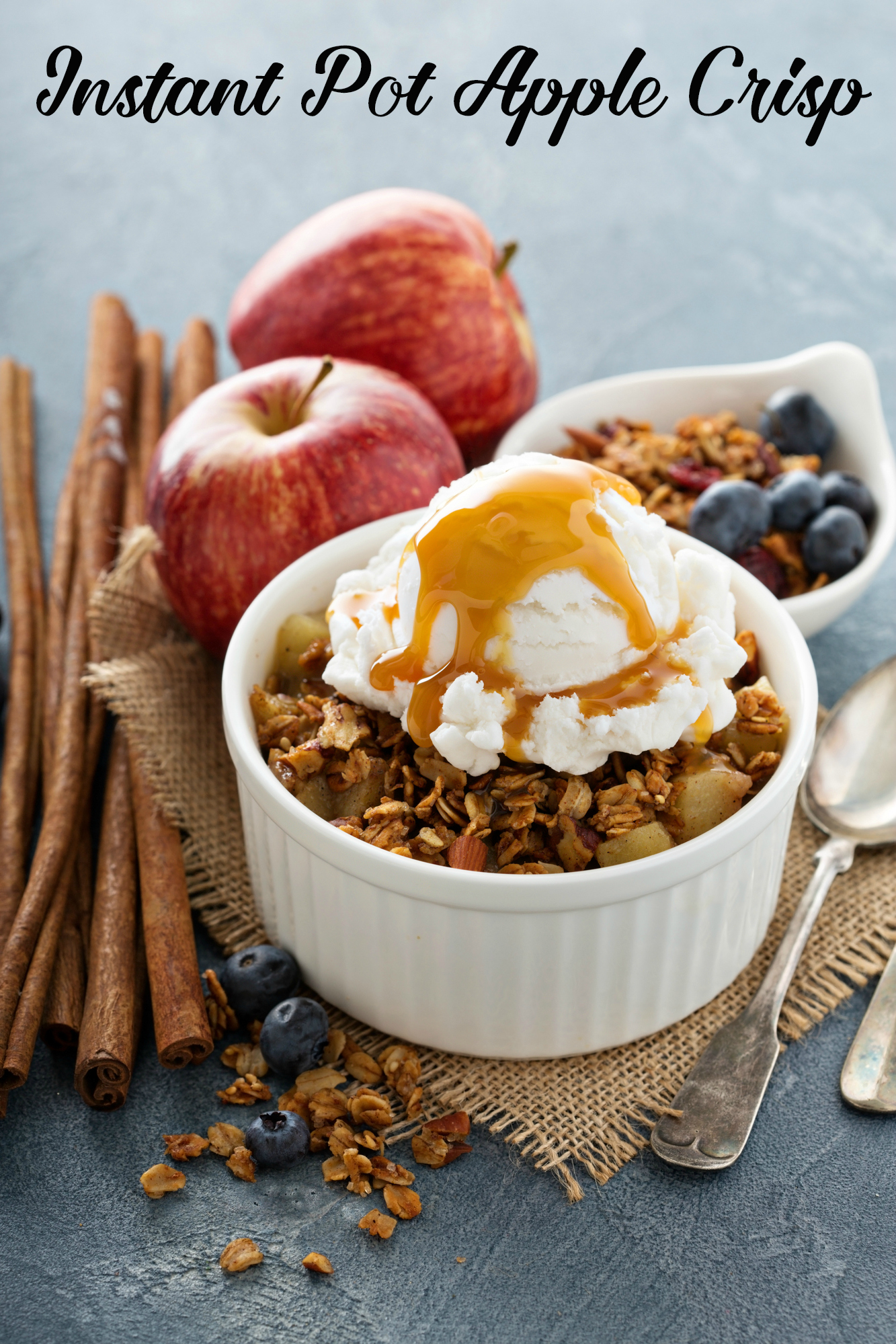 Instant Pot Apple Crisp Duo Crisp