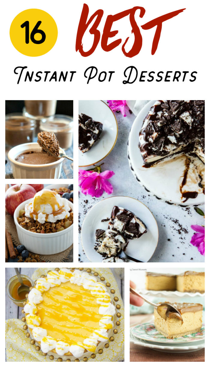 16 Instant Pot Desserts