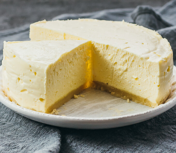 Plain Instant Pot Cheesecake