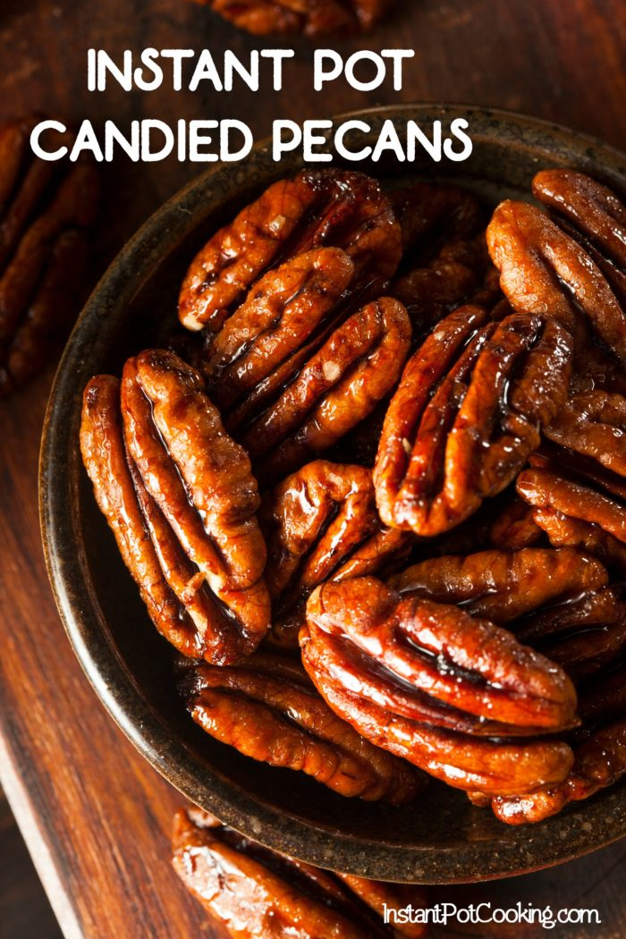 Instant Pot Candied Pecans