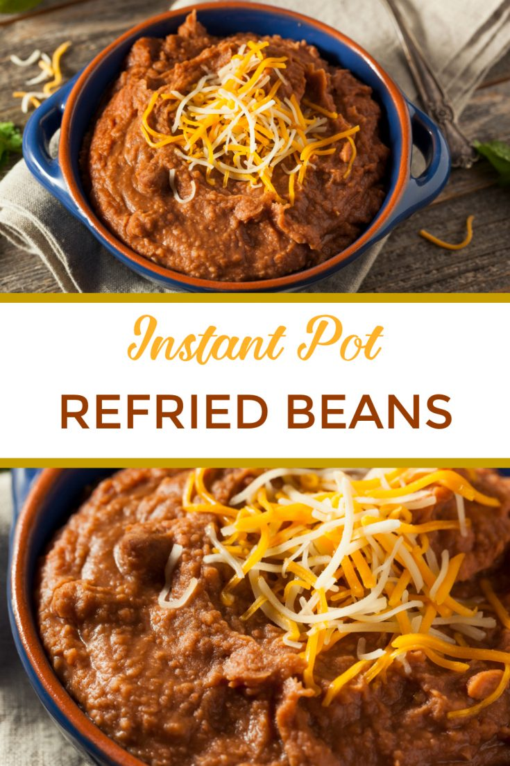 The best ever authentic Instant Pot refried beans. Includes easy recipes for both regular pressure cooking refied beans and vegetarian or vegan beans. Can be made with quick soak or no soak. Beans are healthy, so give these a try!