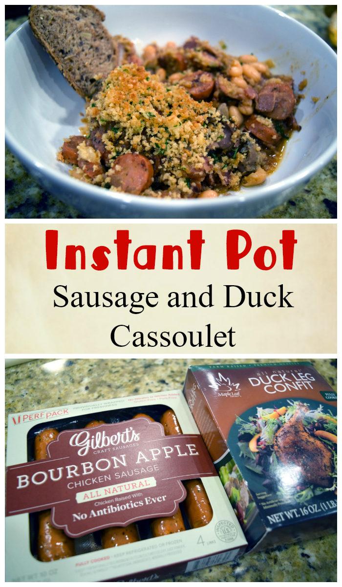 Instant Pot Cassoulet Recipe