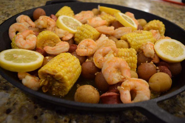 pressure cooker shrimp boil