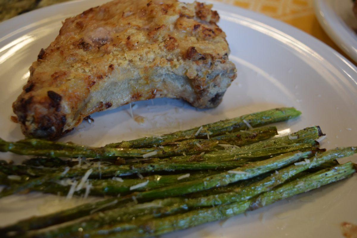 Air fryer pork chops with buttermilk