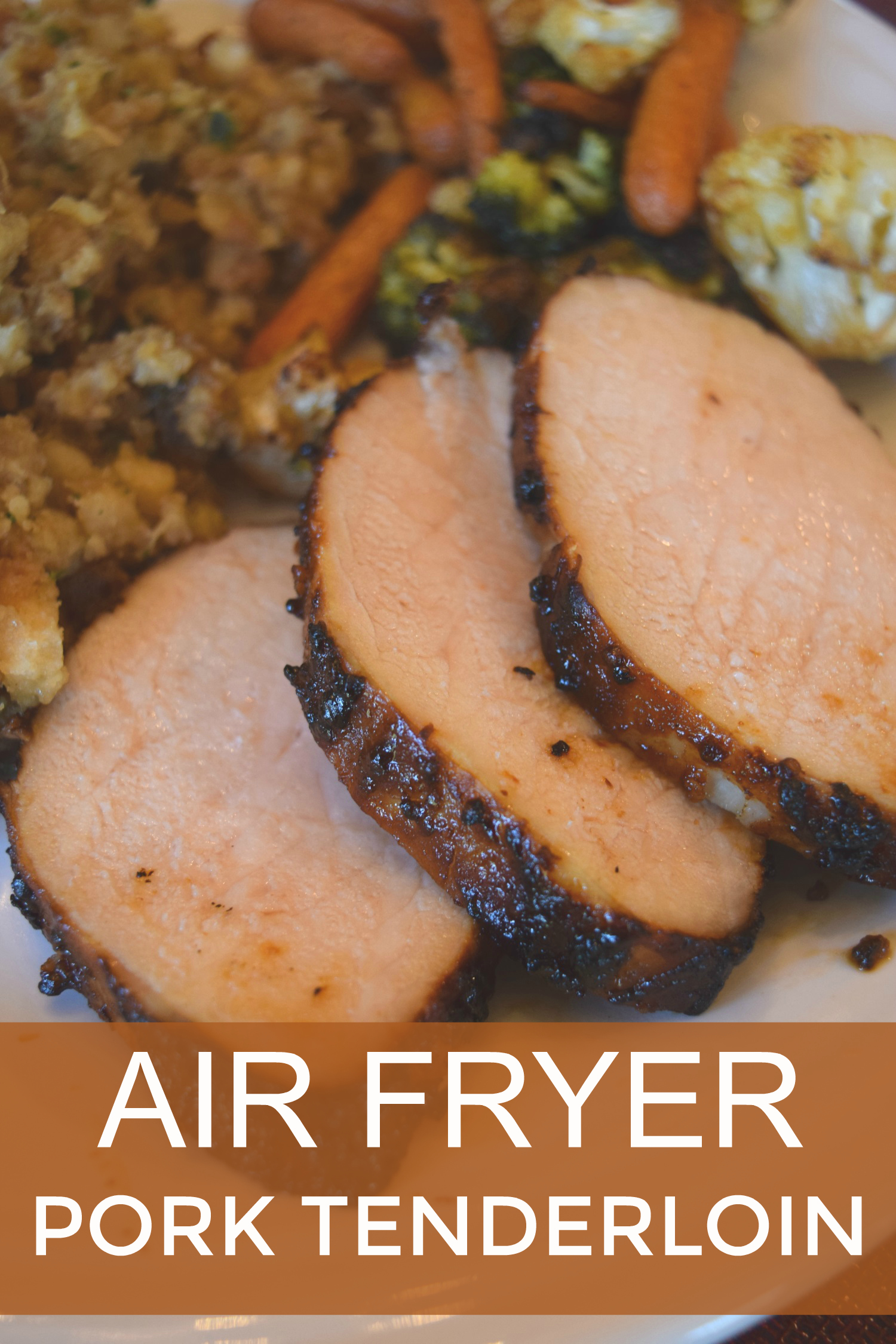Air fryer pork tenderloin recipe