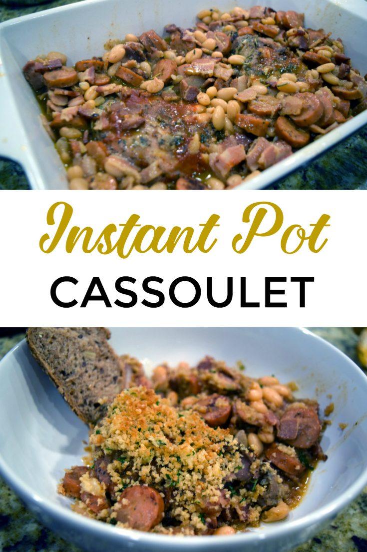 Instant Pot Duck Confit and Sausage Cassoulet