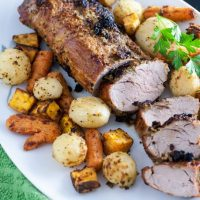Garlic Air Fryer Pork Loin
