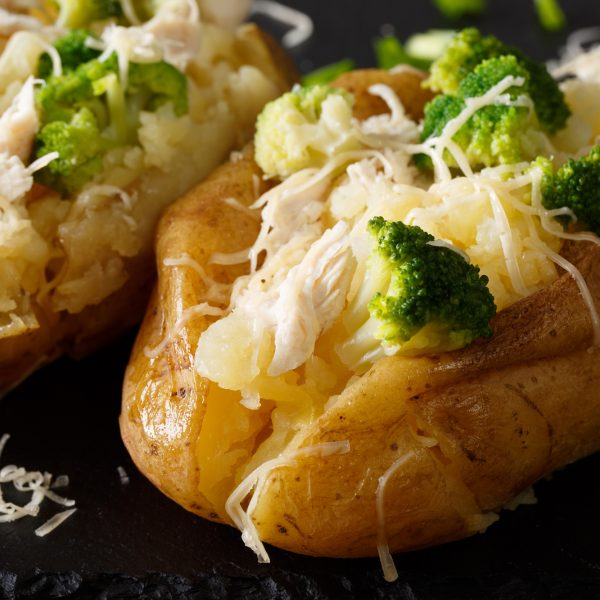 air fryer baked potato