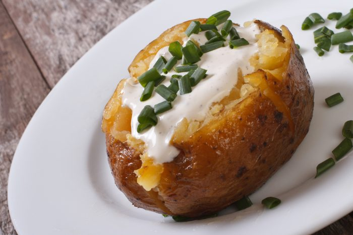 Instant Pot Vortex Baked Potato