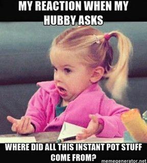 funny instant pot meme