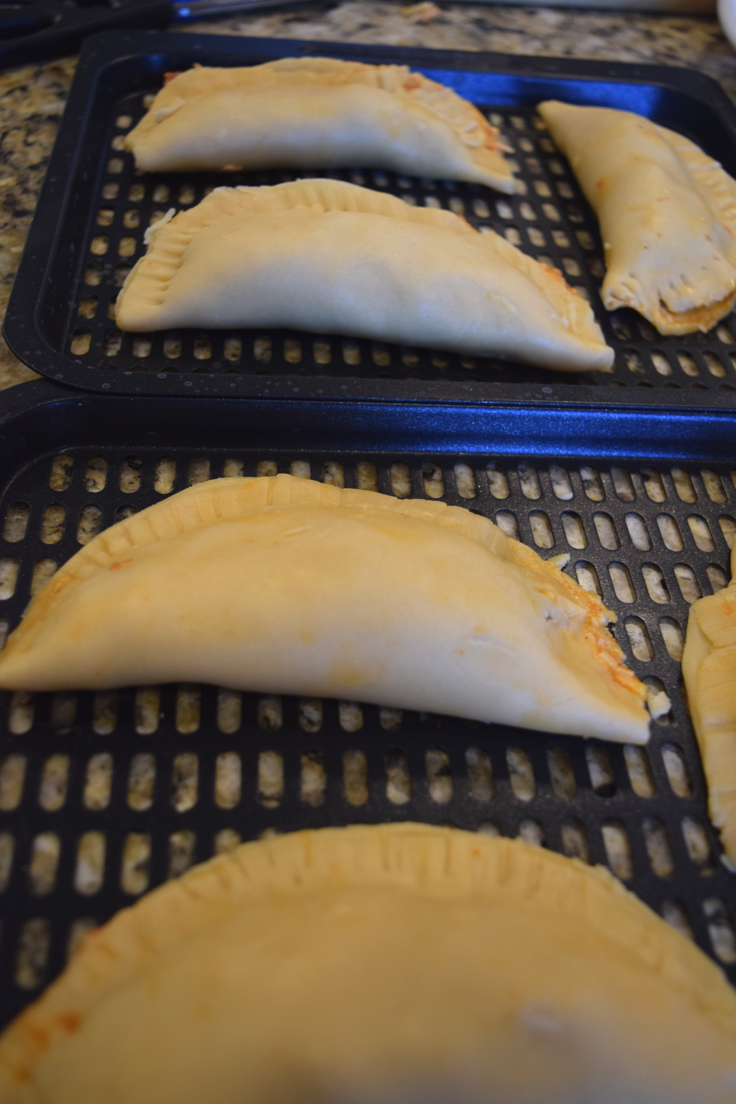 empanadas in the air fryer