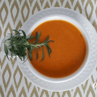 Garlic and Rosemary Tomato Soup {Nourishing Instant Pot Recipe}