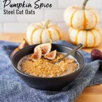 Gluten Free Pumpkin Spice Instant Pot Oatmeal