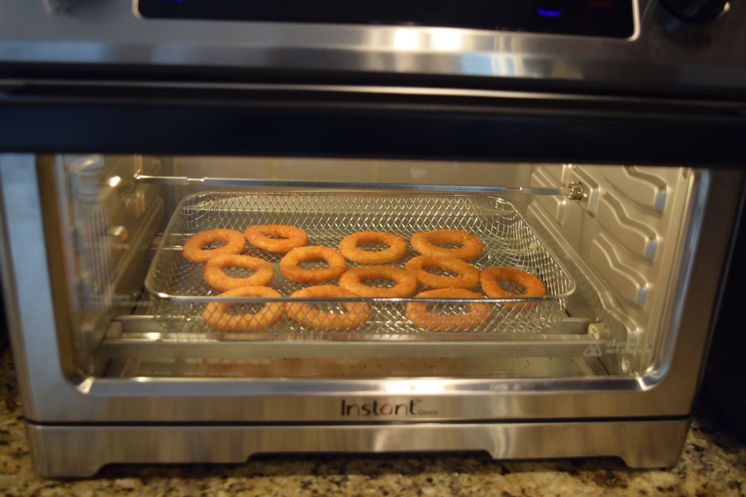 Instant Pot Omni onion rings