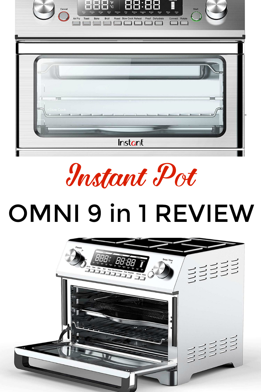 nstant Pot Omni plus 9 in 1 Review