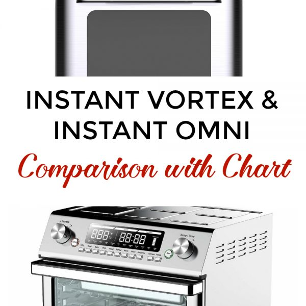 Instant Vortex and Instant Omni Comparison with Chart