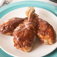 BBQ Keto Instant Pot Chicken Legs