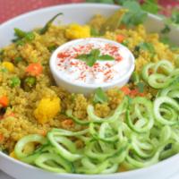 Easy Indian Style Vegetable Quinoa Pulao Recipe -BellyRulesTheMind