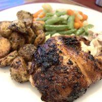 Air Fryer Rotisserie Chicken (Instant Omni)