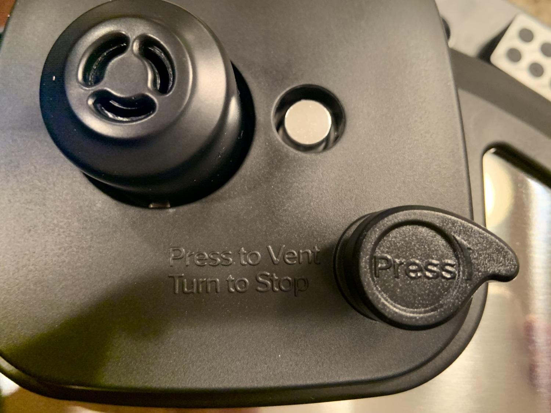 Instant Pot Duo Crisp venting and seal