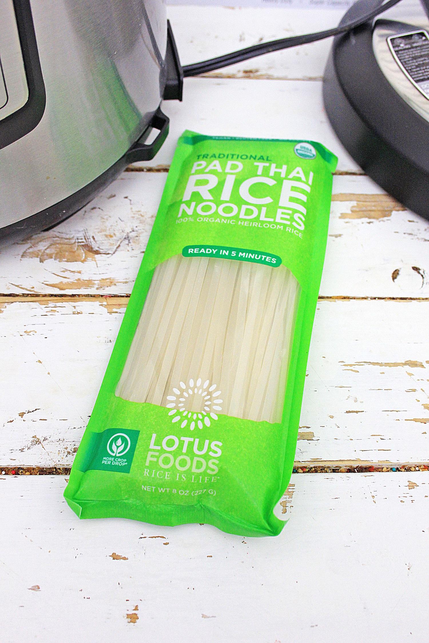 Instant Pot pad thai noodles