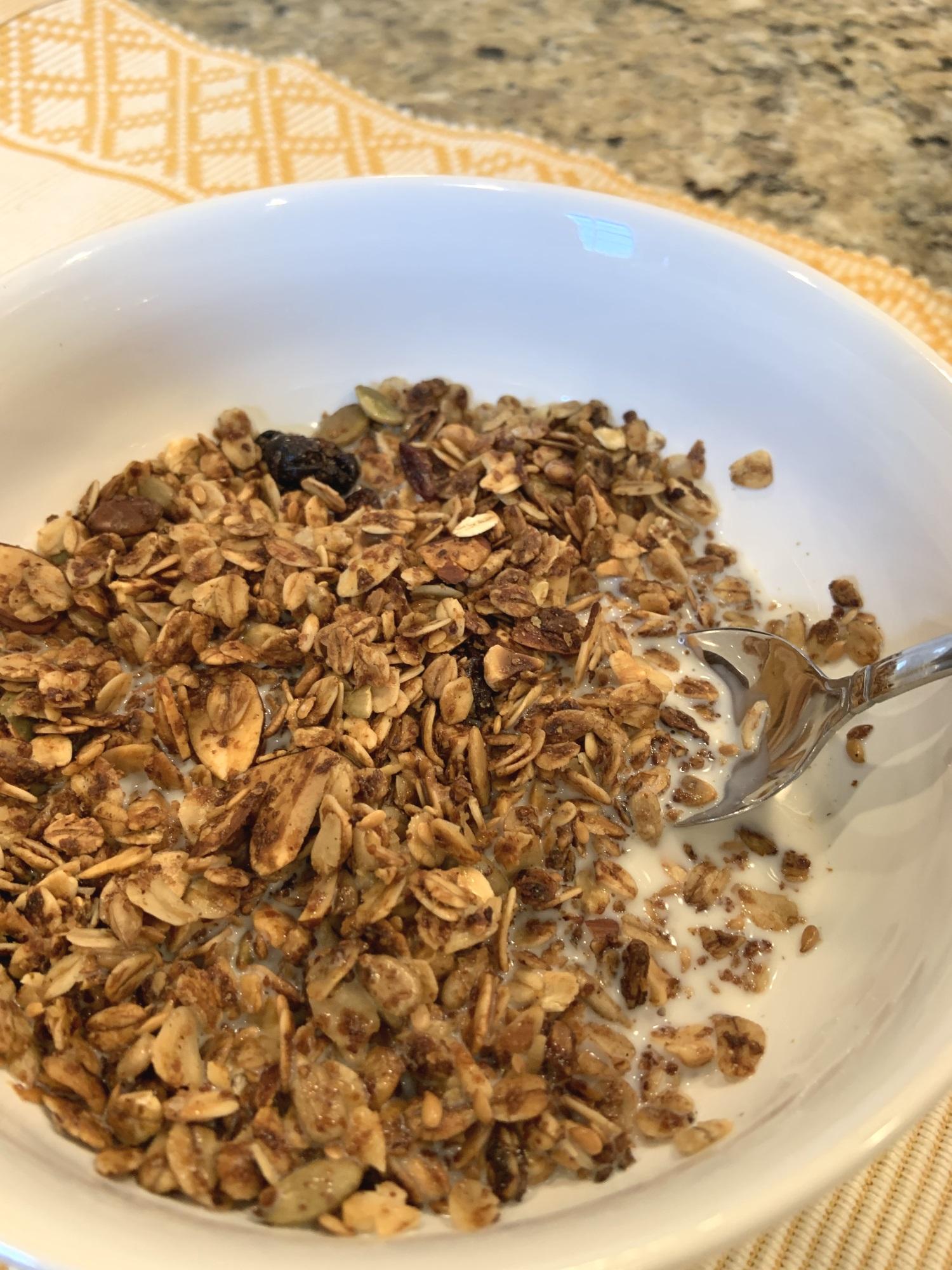air fryer instant pot vortex granola