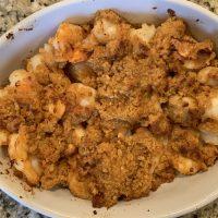 Air Fryer Baked Shrimp Scampi (Shrimp De Jonghe)