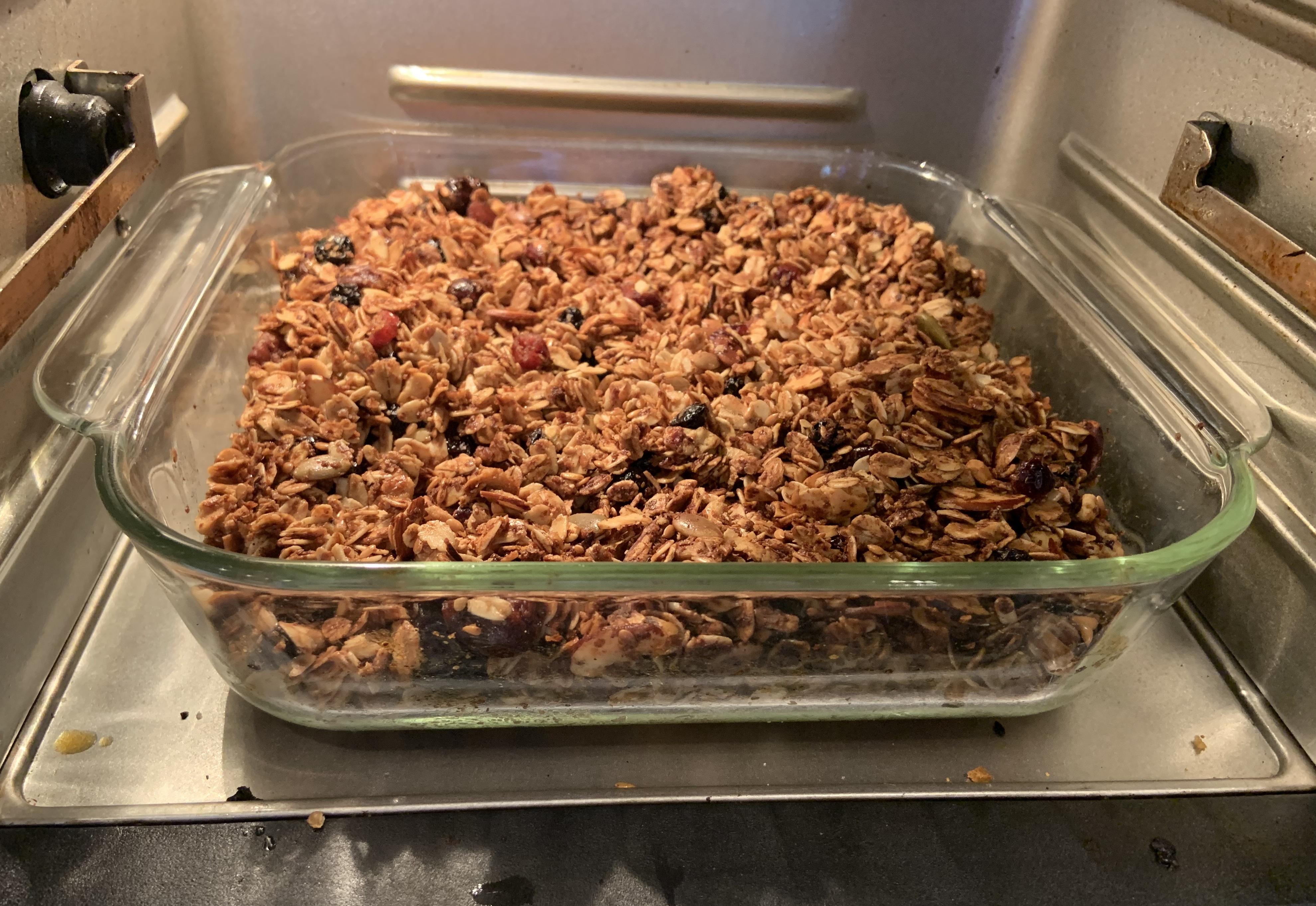 granola in Instant vortex air fryer