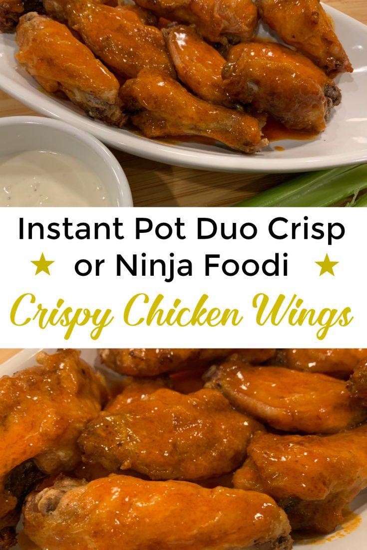 Instant Pot Duo Crisp Chicken Wings Instant Pot Cooking