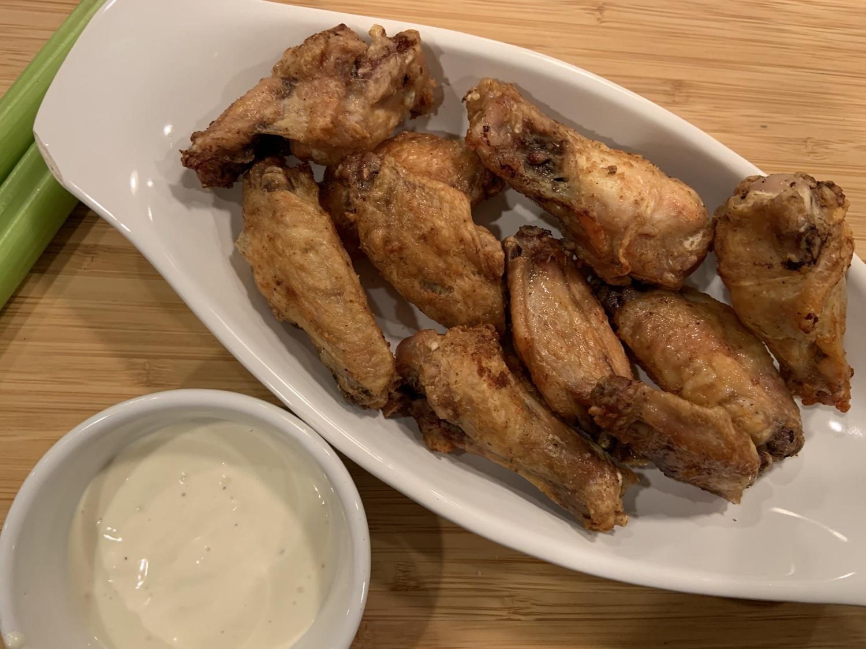instant pot air fryer chicken wings