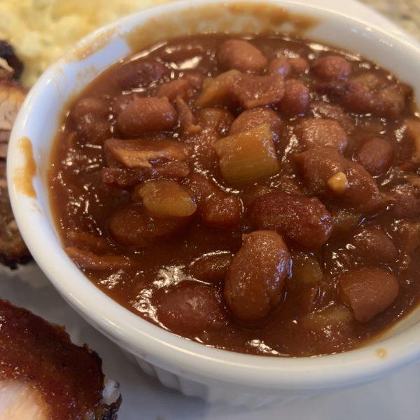 Instant Pot pressure cooker baked beans