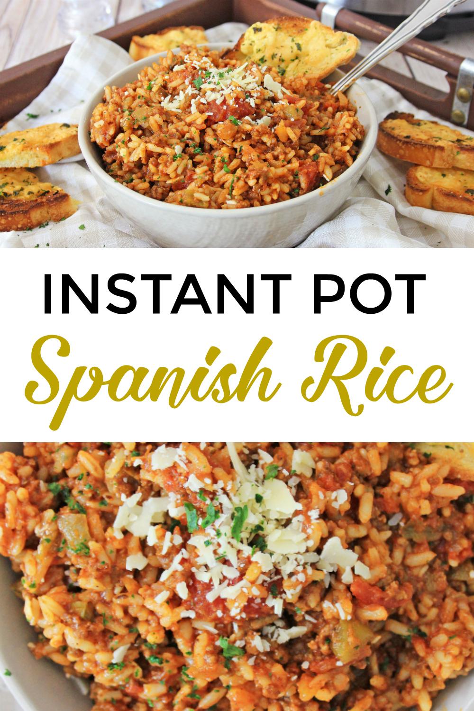 Instant Pot Spanish Rice Recipe