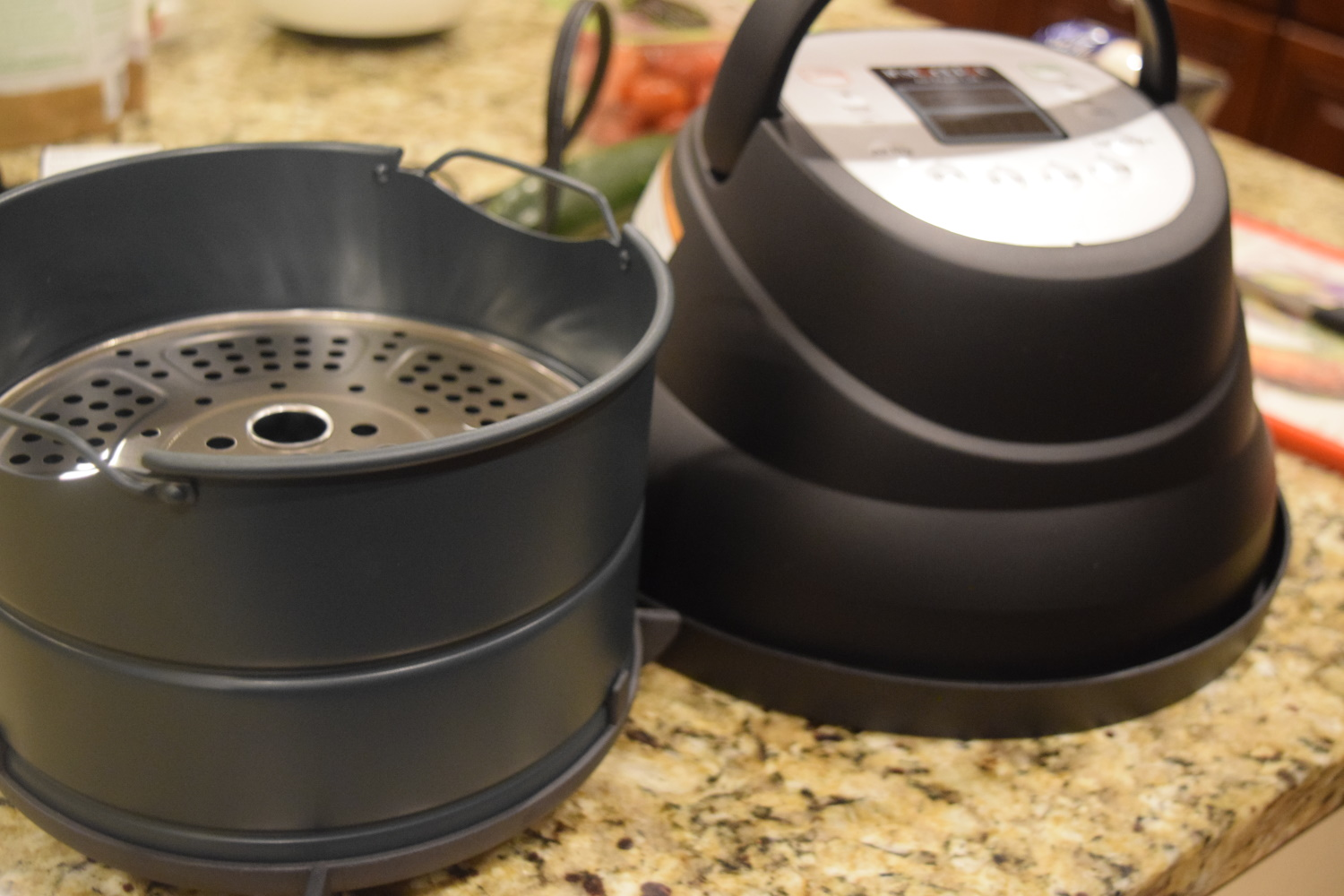 Instant air fryer lid included items