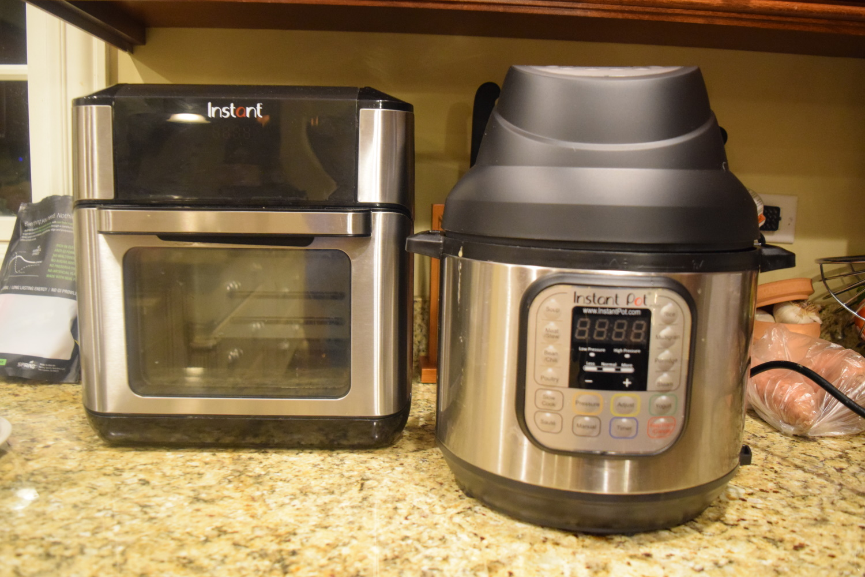 Instant pot air fryer lid v Instant Vortex