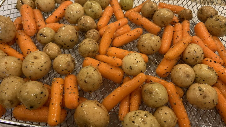 Air Fryer Carrots And Potatoes Instant Pot Cooking